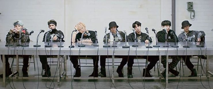 BTS-MIC Dropの歌割りと歌詞のカナルビ