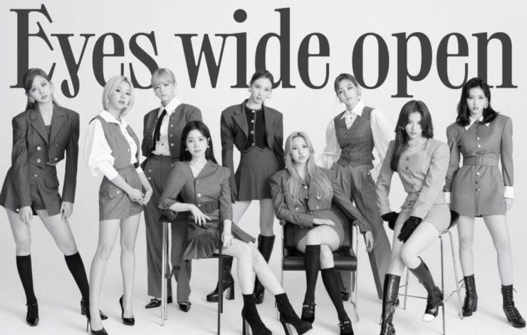 Eyes wide open(TWICE)の収録曲と作詞作曲